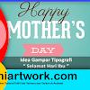 """Kumpulan Gambar Tipografi """" Selamat Hari Ibu """""""