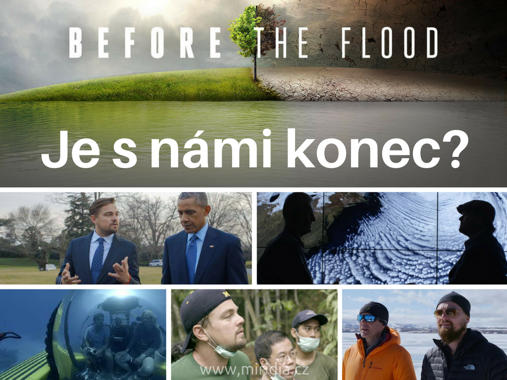 Leonardo DiCaprio:Je s námi konec? Před potopou (dokumentární film online)
