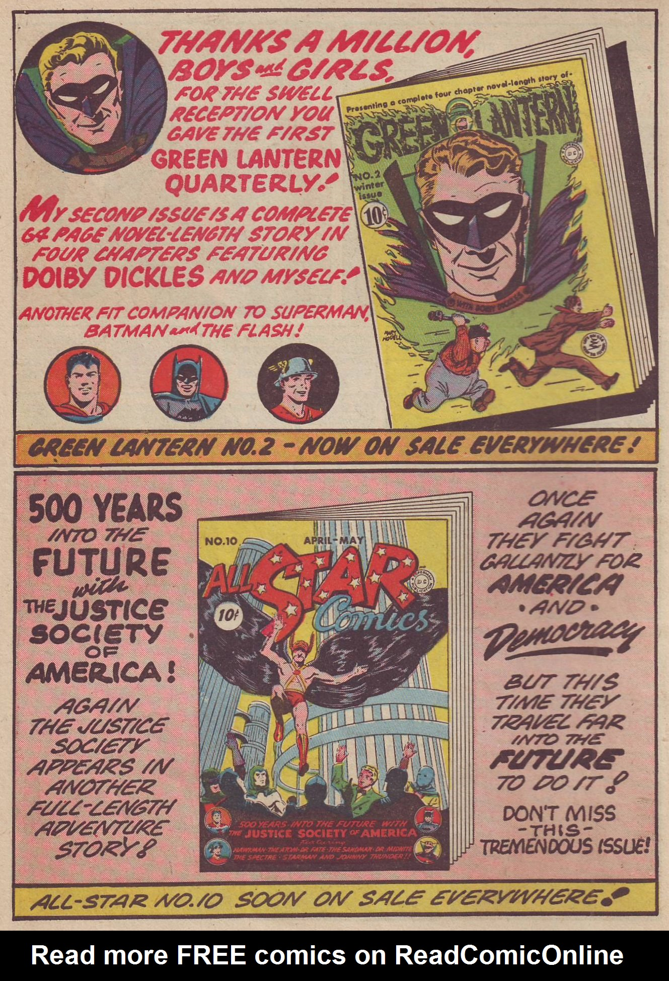 Read online All-American Comics (1939) comic -  Issue #37 - 16
