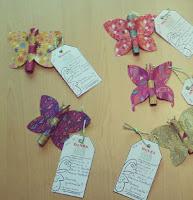 farfalla di carta