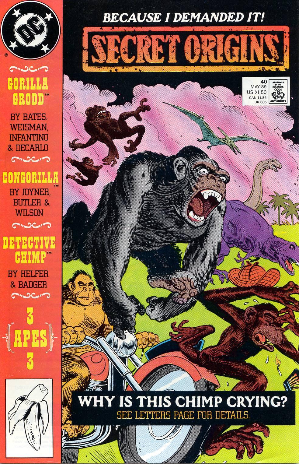 Read online Secret Origins (1986) comic -  Issue #40 - 1