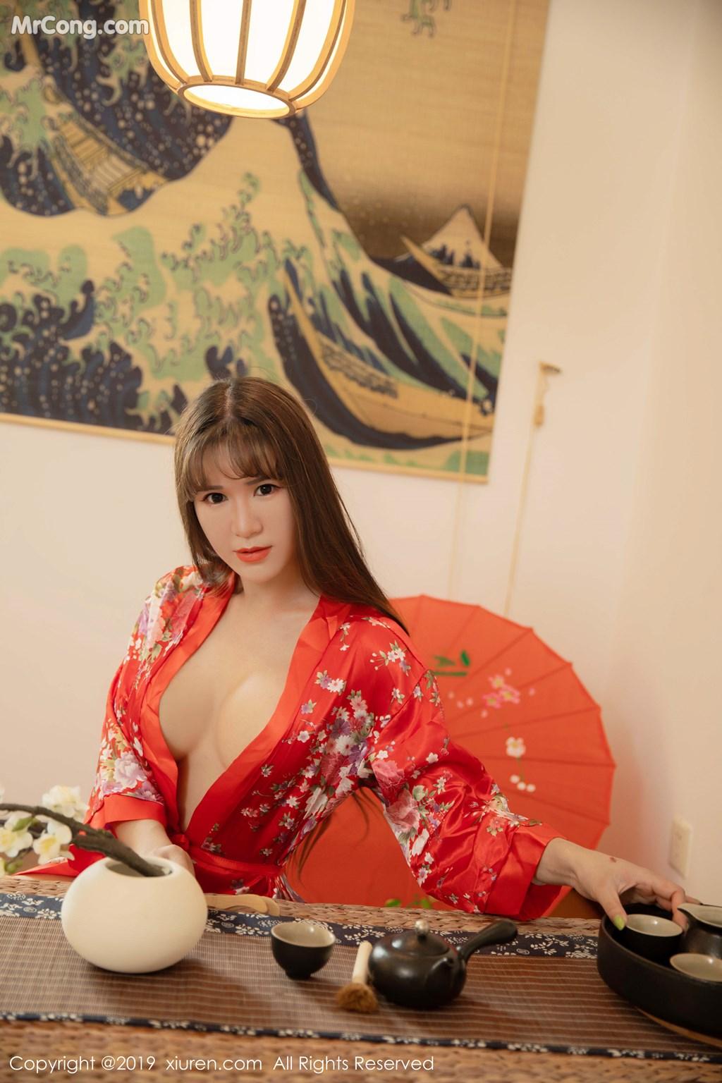 Image XIUREN-No.1647-Wang-Zi-Lin-MrCong.com-003 in post XIUREN No.1647: Wang Zi Lin (王紫琳) (83 ảnh)