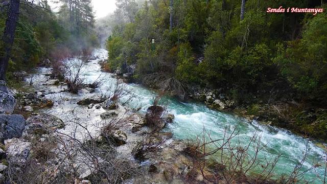 Brumas, río Borosa, Pontones, Sierra de Cazorla, Jaén, Andalucía