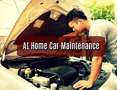 At home car maintenance