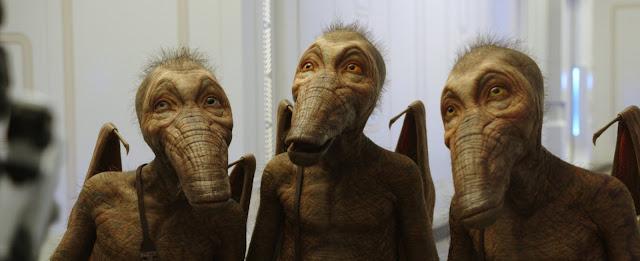 Muchos personajes fantásticos aparecen en la película Valerian y la ciudad de los mil planetas que ha sido dirigida por Luc Besson
