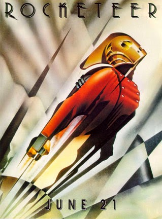 The Rocketeer movie poster