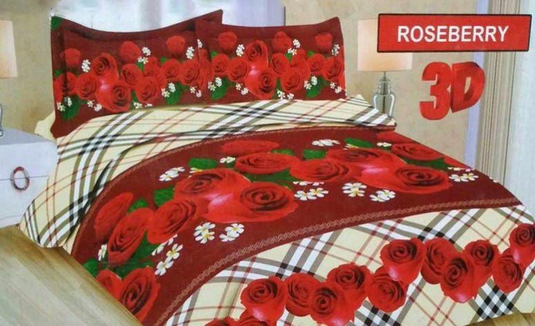 sprei bonita roseberry