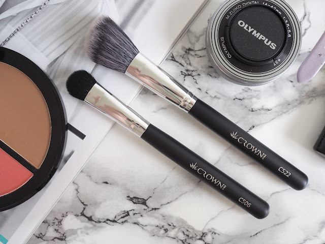 Crown Brush makeup and brushes