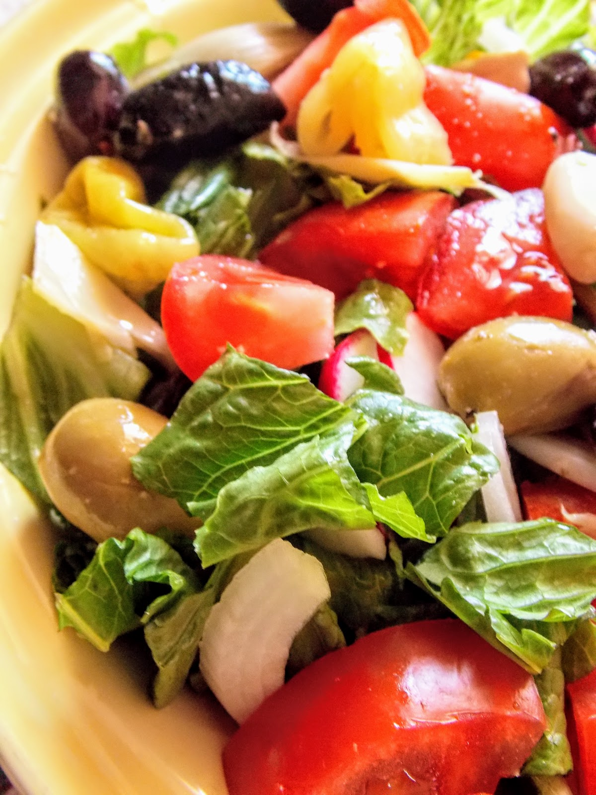 Food and Thrift: Antipasto Salad... two ways