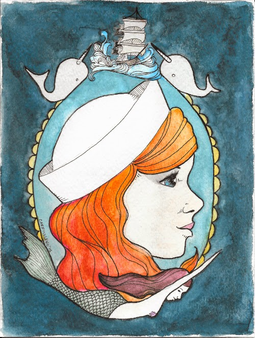 Sailor Girl by Jessi Carrowiano of Yeti Crafts