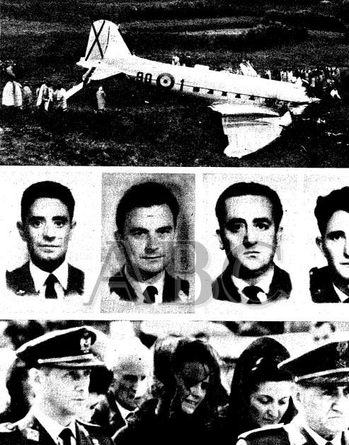 Accidente de La Esperanza (Tenerife) en 1964.