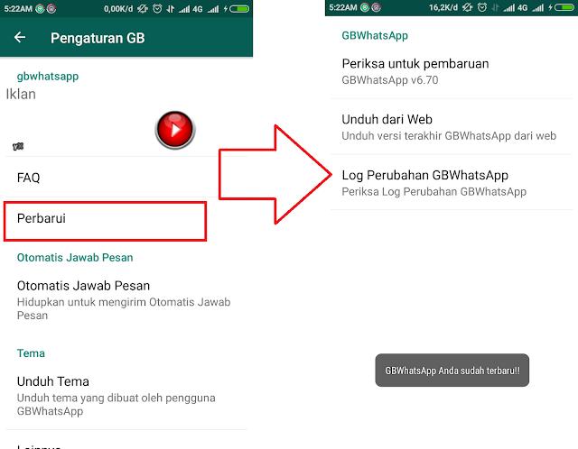 2 Cara Memperbarui Gbwhatsapp