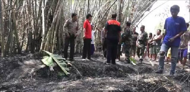 Nenek Sebatangkara Tewas Terbakar di Tengah Kebun