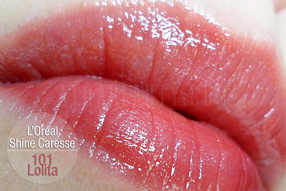 L'oreal Shine Caresse 101 Lolita