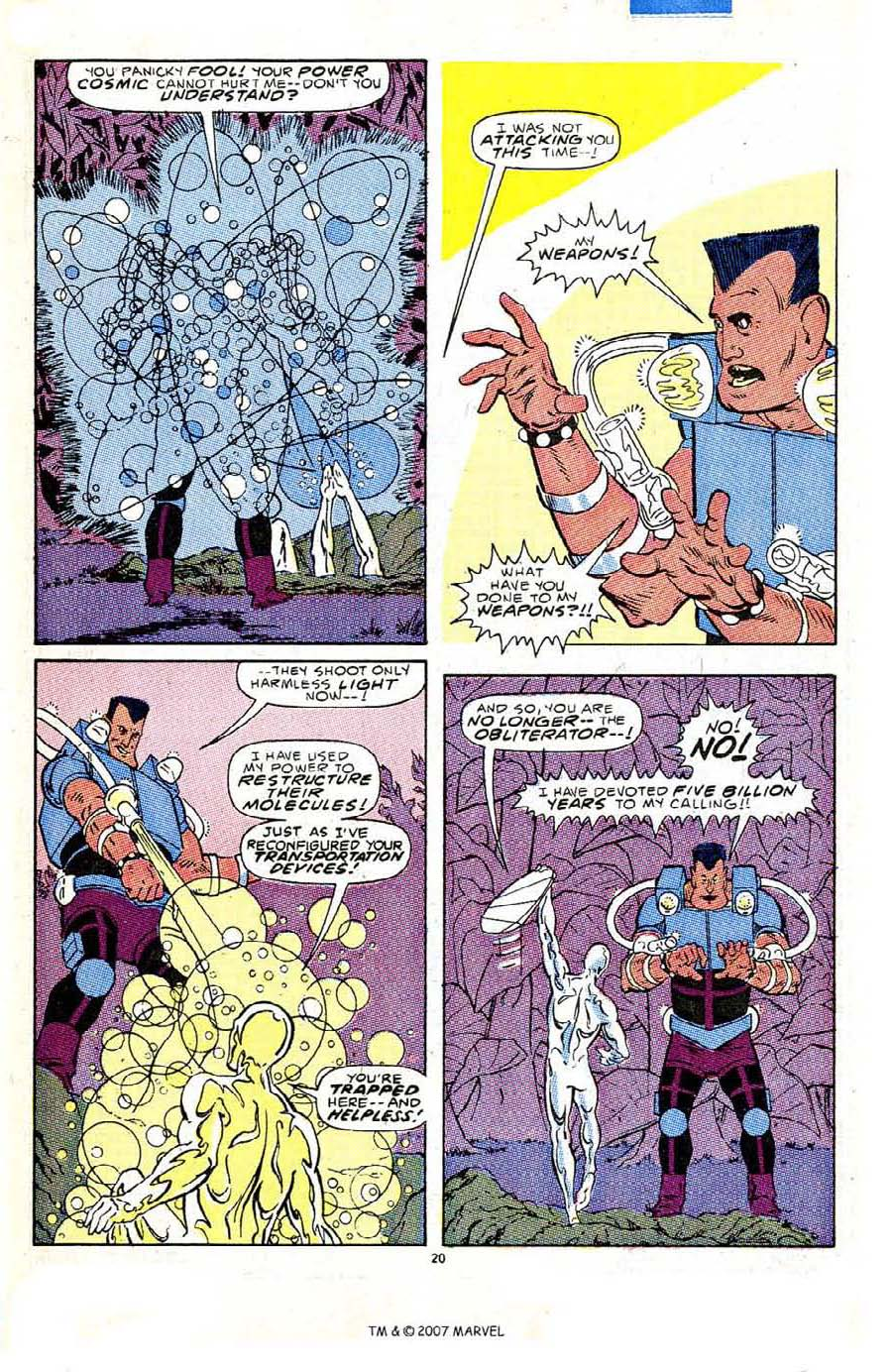 Read online Silver Surfer (1987) comic -  Issue #5 - 29