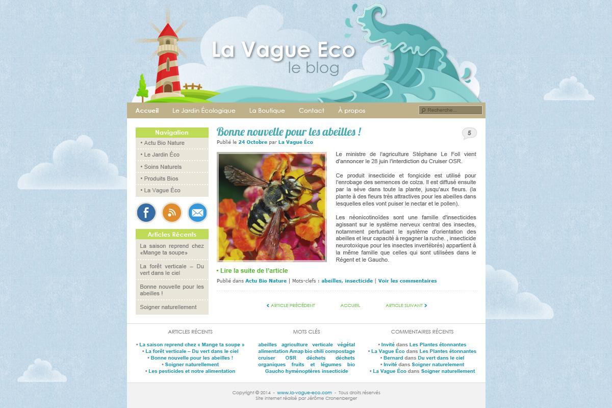Création blog et forum, la vague éco
