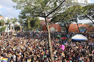 IMG 9918 - 13ª Parada do Orgulho LGBT Contagem reuniu milhares de pessoas