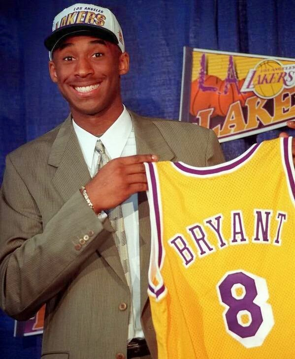 64 Historical Pictures you most likely haven't seen before. # 8 is a bit disturbing! - 18. Kobe Bryant when he was 18. 1996