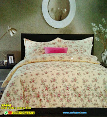 Sprei Custom Shabby Chic And Vintage JP Rose Cream