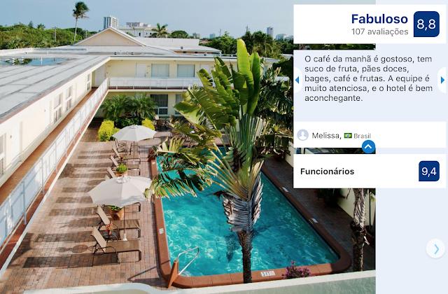 Hotel Ocean Lodge em Boca Raton: piscina
