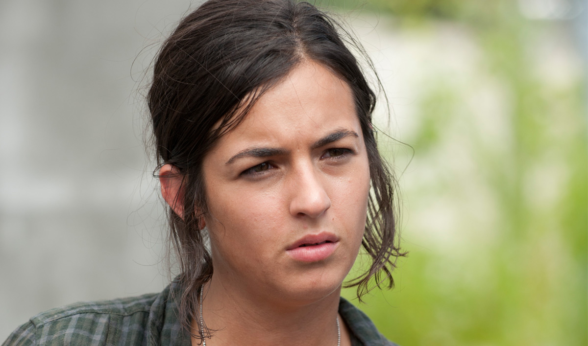 Alanna Masterson es Tara en The Walking Dead