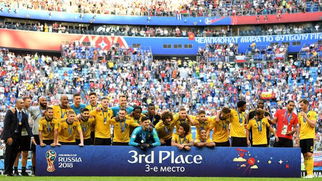Belgia Mengungguli Kelelahan Inggris pada Perebutan Tempat Ketiga Piala Dunia 2018