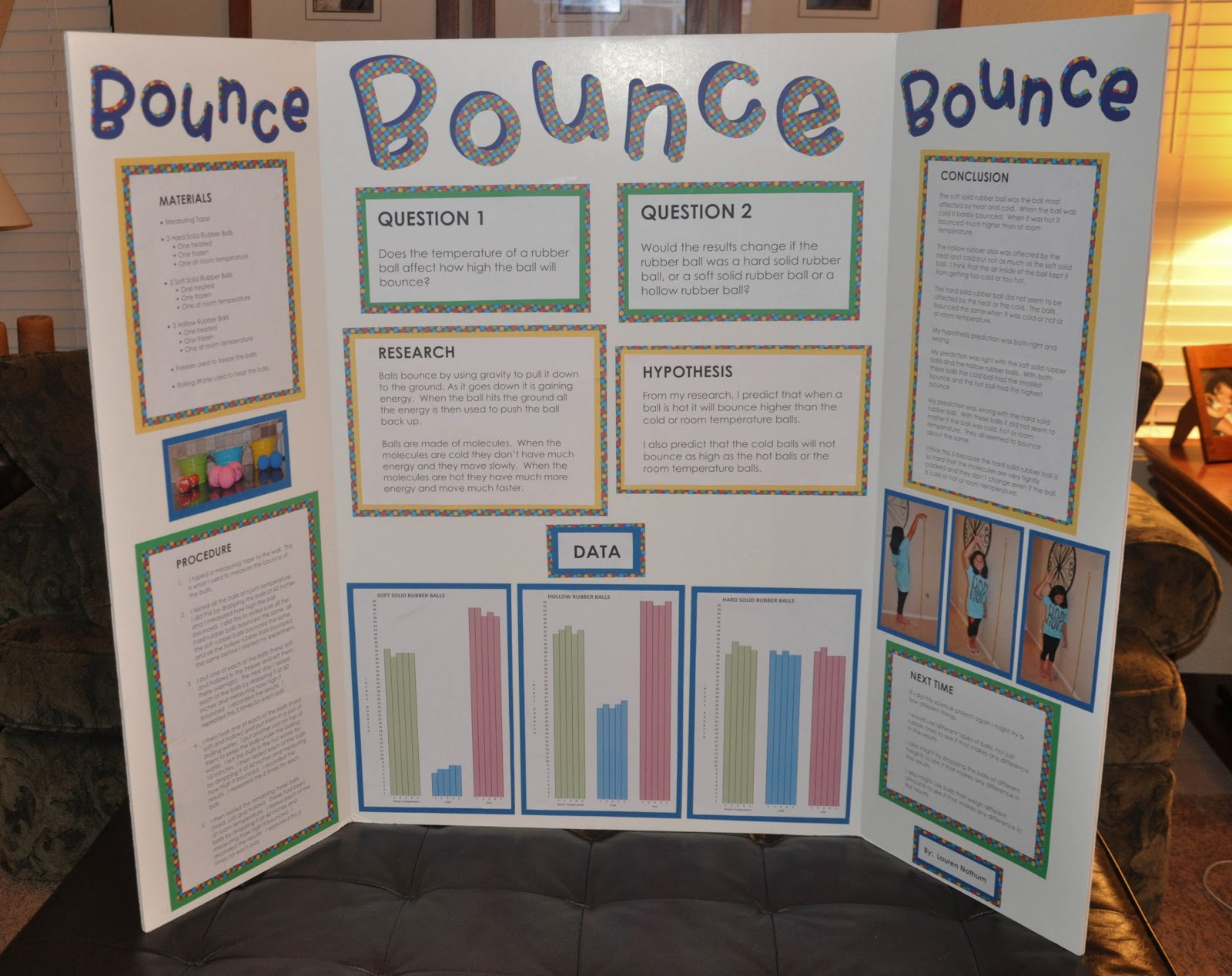 Life With Lauren Science Fair Project