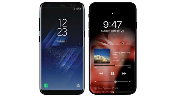 Samsung Galaxy S8, iPhone 8