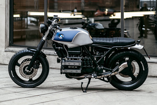 BMW K75 By The Foundry MC Hell Kustom