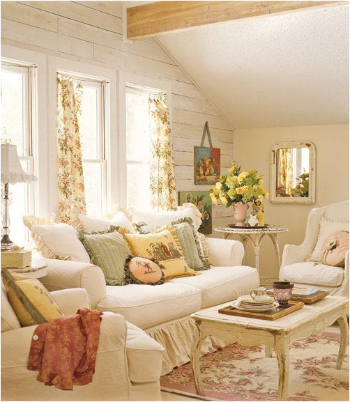 Romantic Living Room Decorating Ideas