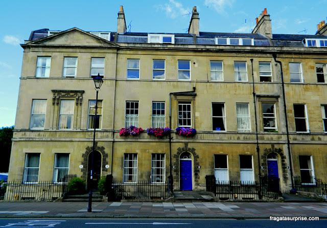 Casa de Jane Austen em Bath, Inglaterra - Sidney Place