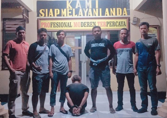 Setahun Jadi Buron, Pelaku Pencurian di SMK Mesuji Dibekuk Polisi