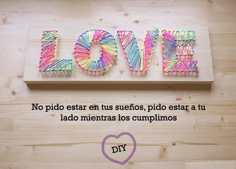 Manualidades Para San Valentin Diy Original Y Bonito Letrero De