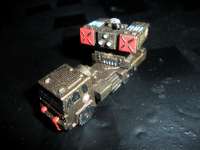 Reign of Anger Fire Support Vehicle