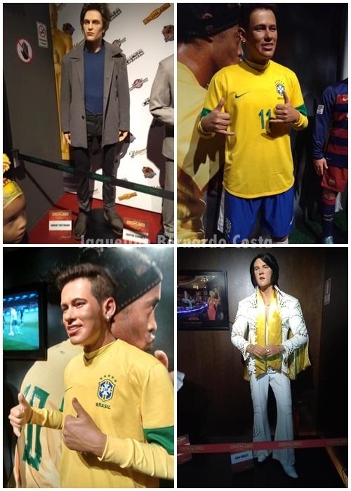 A gente quer conhecer os famosos mas eles não colaboram, se escondem da gente, mas tem uma solução, visitá-los no Museu de Cera Dreamland em Gramado!