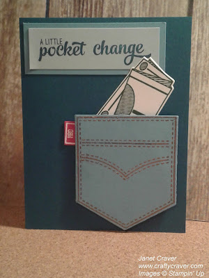 Pocketful of Sunshine, Pocketful of Change, Pocketful of Money, Stampin Up