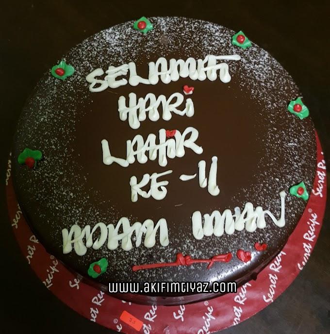 Sambutan Hari Lahir Muhammad Adam Iman
