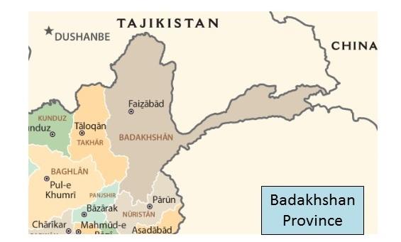 Afghan war blog map of badakhshan province afghanistan gumiabroncs Choice Image