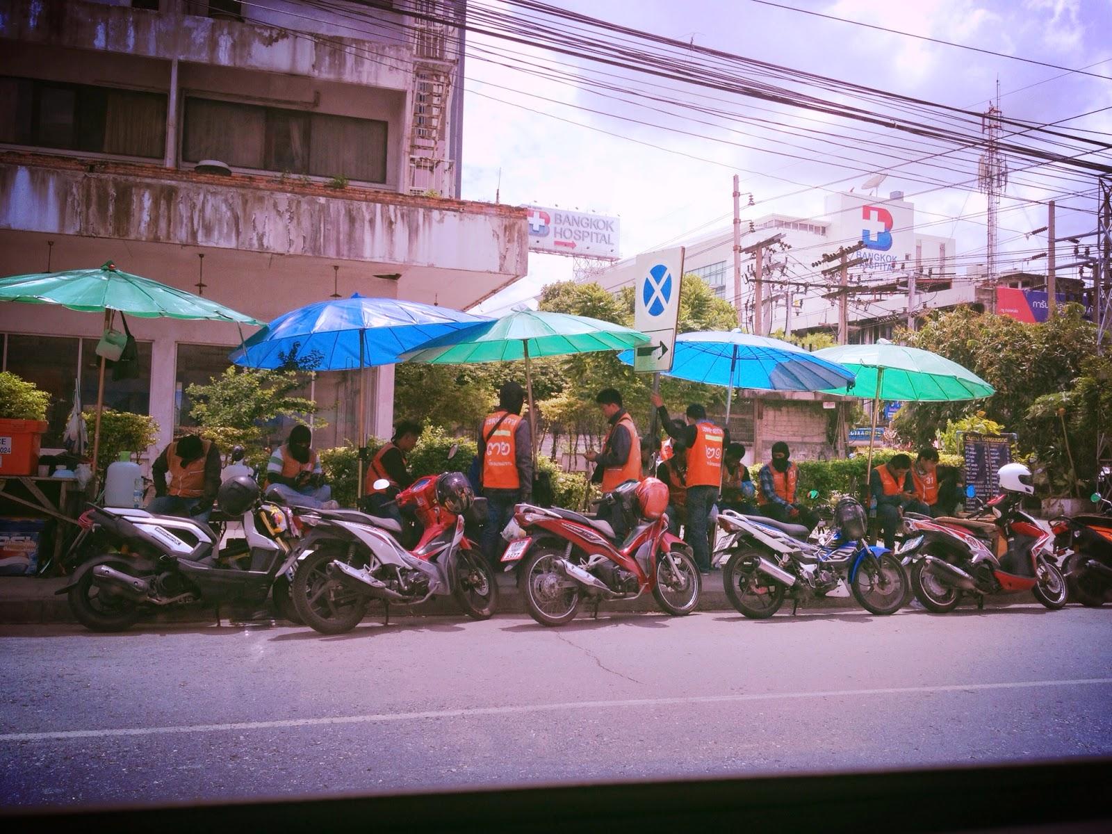Bangkok - Motorcycle rides for hire