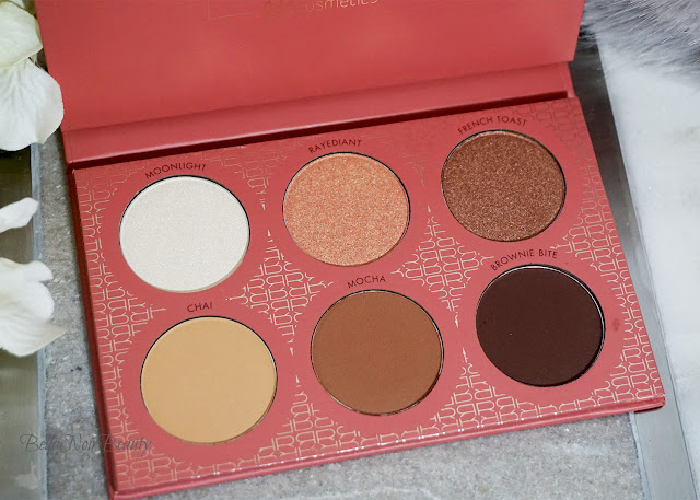 BH Cosmetics x It's My Raye Raye Eyeshadow and Contour Palette | bellanoirbeauty.com