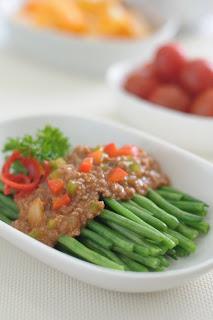 Resep Cara Membuat Buncis Siram Daging