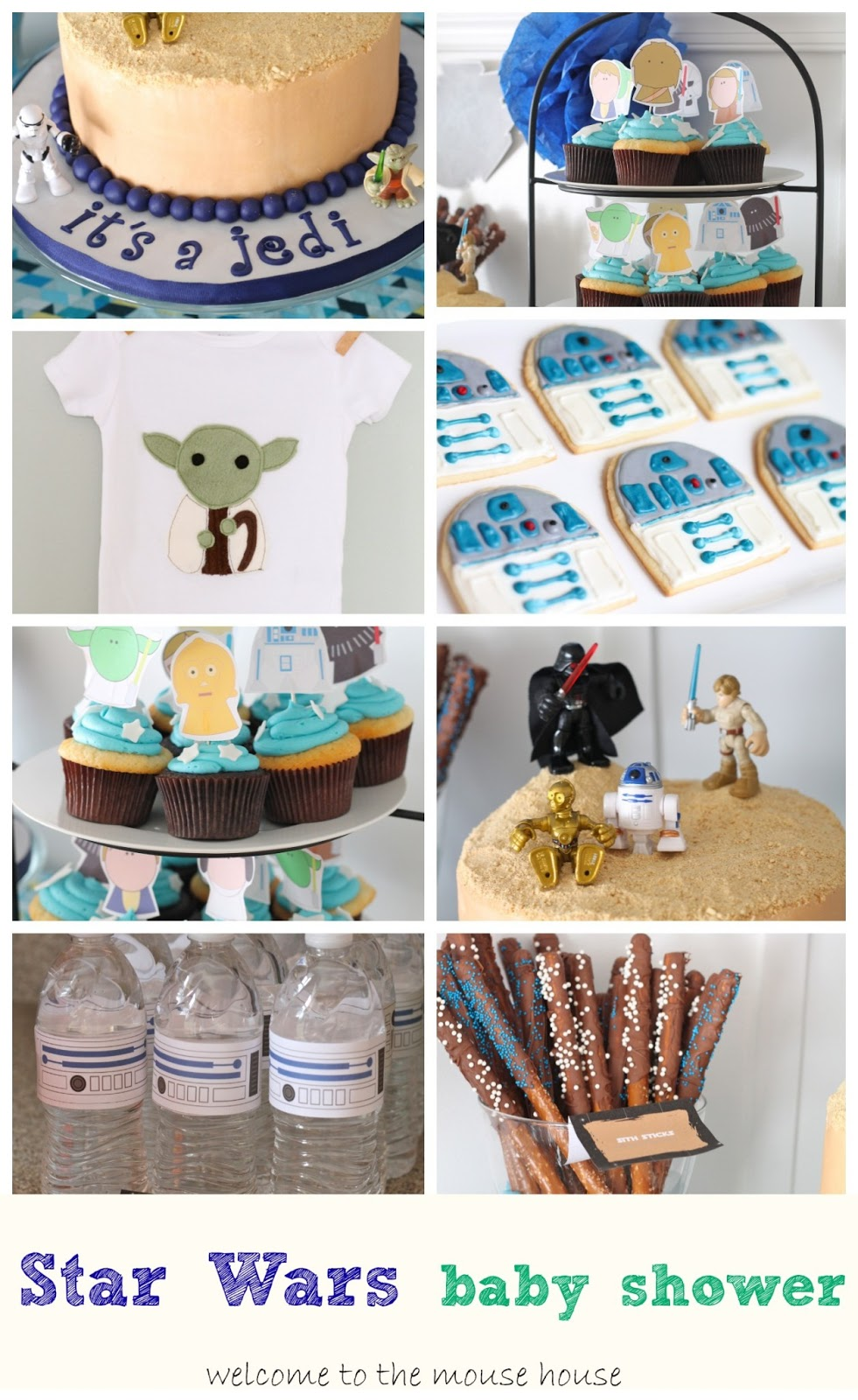Star Wars Themed Baby Shower Welcometothemousehouse