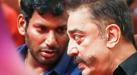 Vishal joins with Kamal Hassan team