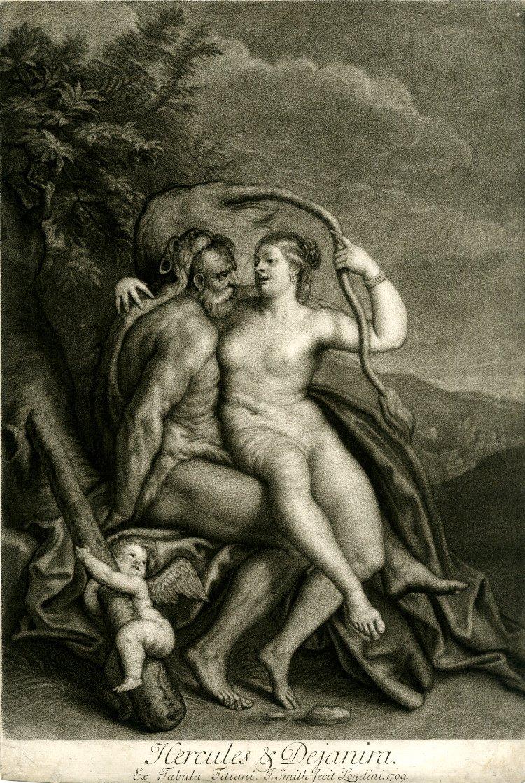 Where is Ariadne?: Deianira (with Hercules and Nessus)