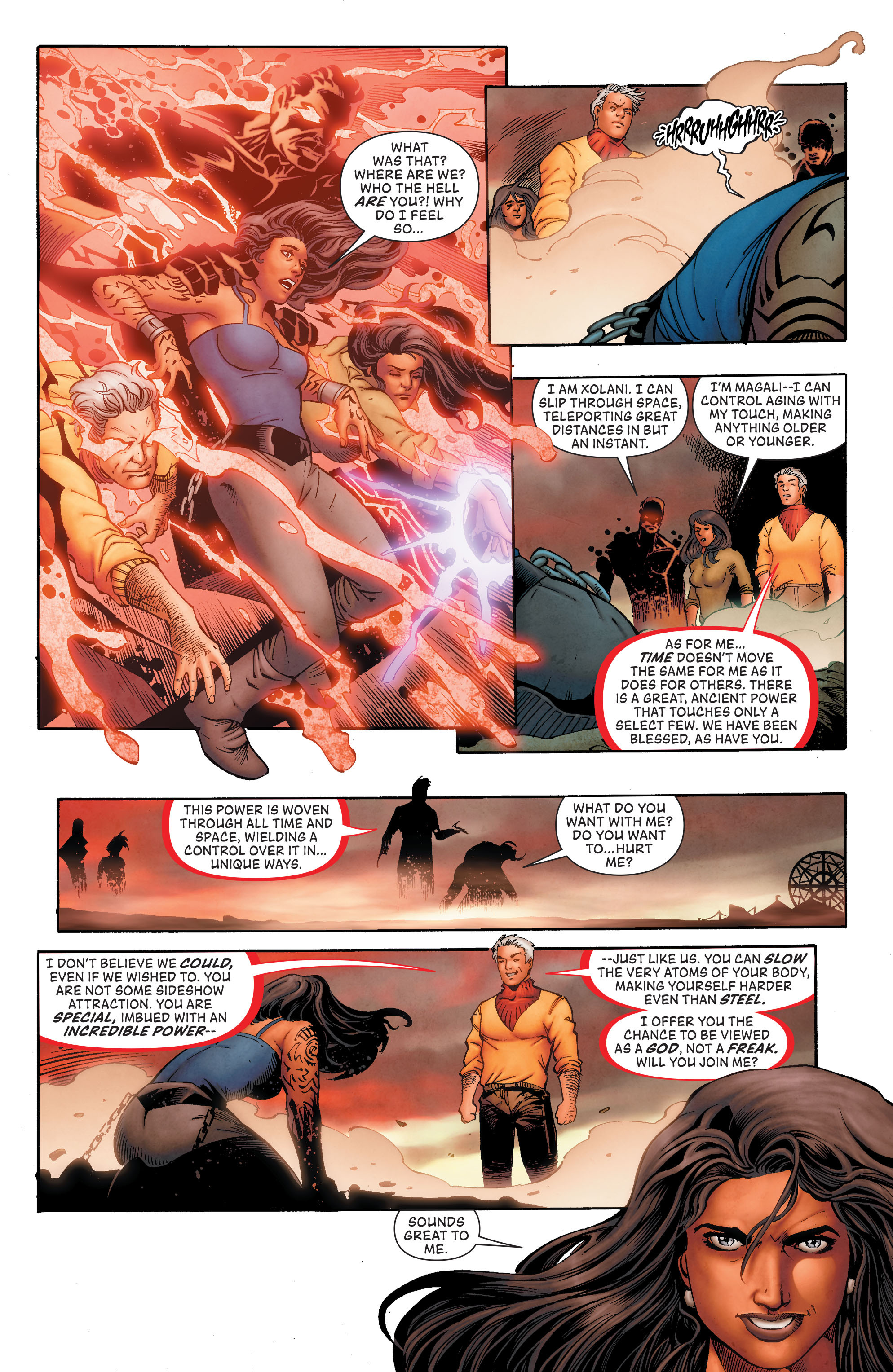 Read online The Flash (2011) comic -  Issue # Annual 4 - 20