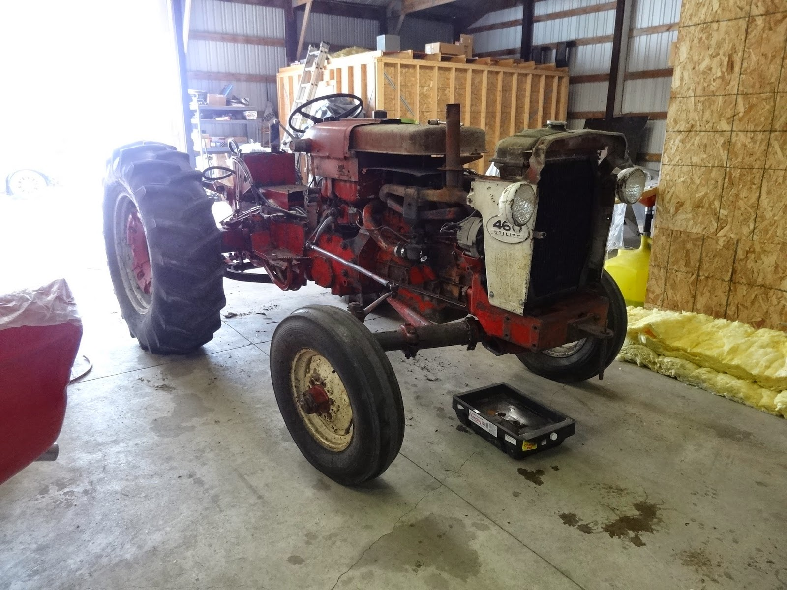 Tear down tractor
