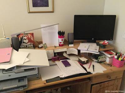 Rotete skrivebord...