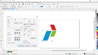 Membuat Logo Sederhana Dengan Corel Draw