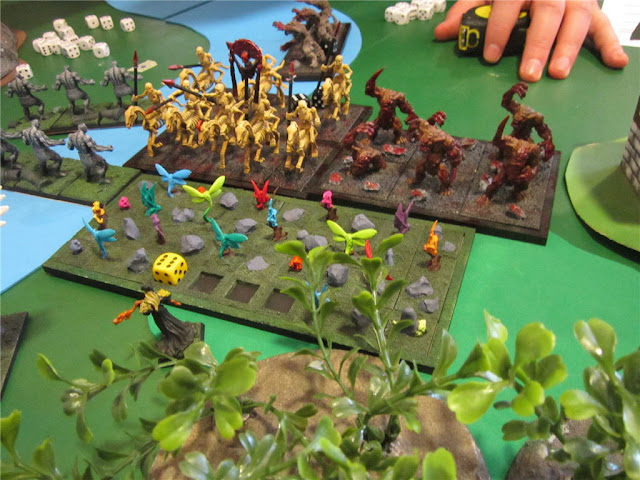 Kings of War, Fuerzas de la Naturaleza contra No Muertos, KOW Forces of Nature VS Undead