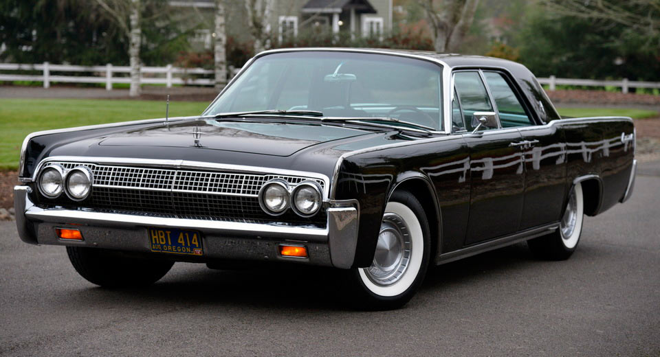 iconic 1963 lincoln continental offered at auction with no. Black Bedroom Furniture Sets. Home Design Ideas